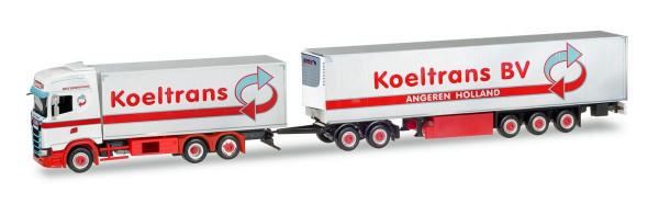 "Herpa 309127 - Scania CS Hochdach Eurocombi ""Koeltrans B.V."" (NL) - 1:87"