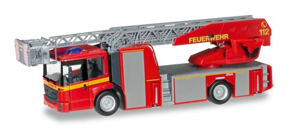 """Herpa 092777 - Mercedes-Benz Econic Metz Drehleiter L32 XS """"Feuerwehr"""" - 1:87"""