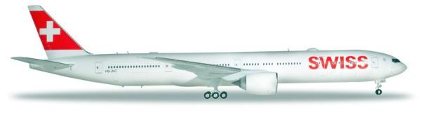 Herpa Wings 559317 - Swiss International Airlines Boeing 777-300ER - 1:200