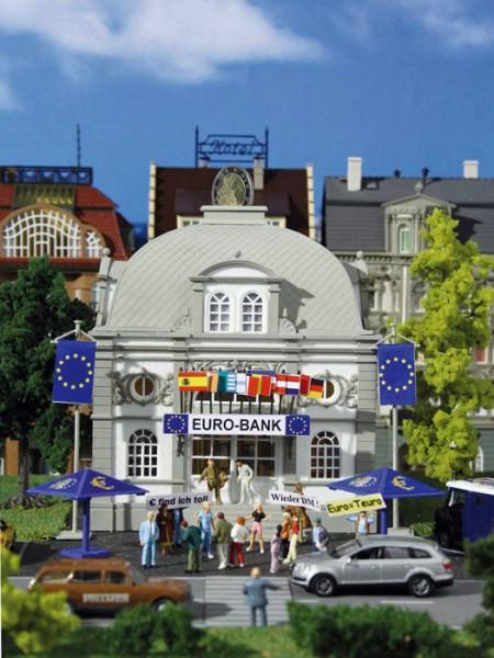 Vollmer 42002 - Euro-Bank mit Euro-Rettungsschirmen - H0 (2002)