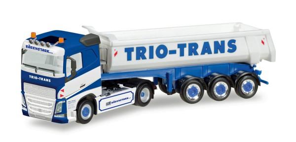 """Herpa 308533 - Volvo FH Rundmulden-Sattelzug """"Trio-Trans"""" - 1:87"""