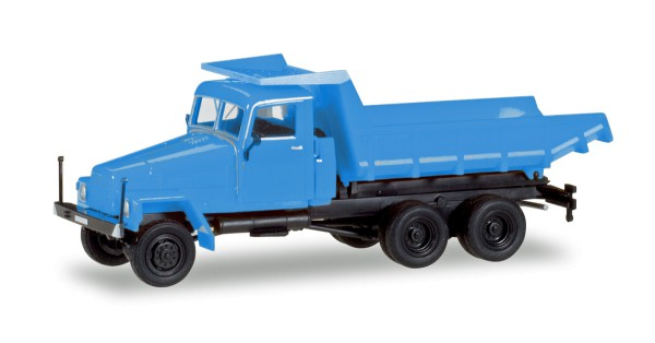 Herpa 307581 - IFA G5 Muldenkipper, blau - 1:87