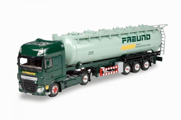 "Herpa 305983 - DAF XF Euro 6 SSC Silo-Sattelzug ""Freund"" - 1:87"