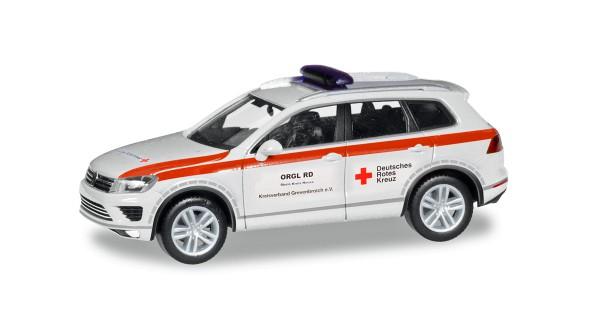 "Herpa 094351 - VW Touareg ""DRK Grevenbroich"" - 1:87"