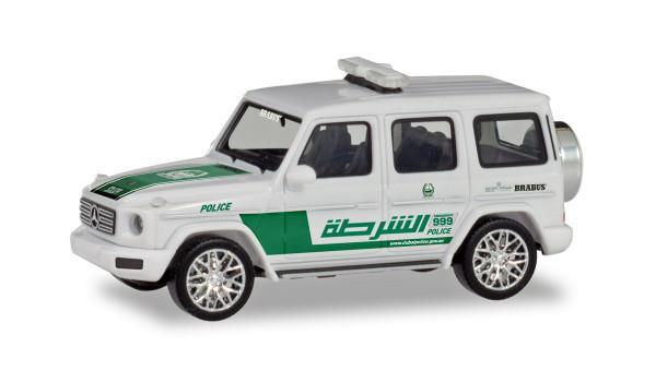 "Herpa 095082 - Mercedes-Benz G-Klasse ""Polizei Dubai"" (VAE) - 1:87"