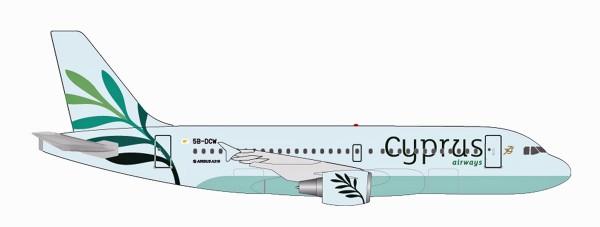 Herpa Wings 531757 - Cyprus Airways Airbus A319 - 1:500