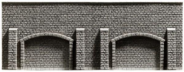 NOCH 58058 - Arkadenmauer, 33,4 x 12,5 cm - H0