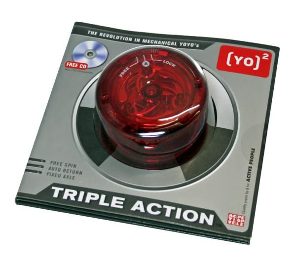 [Yo]² - YoYo Triple Action - rot