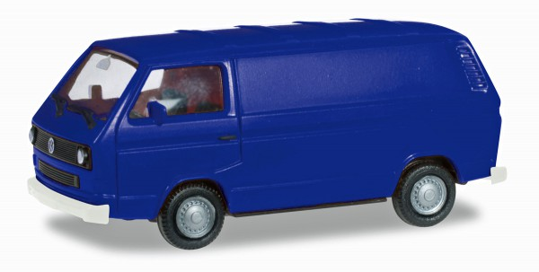 Herpa 093149 - VW T3 Bus, ultramarinblau - 1:87