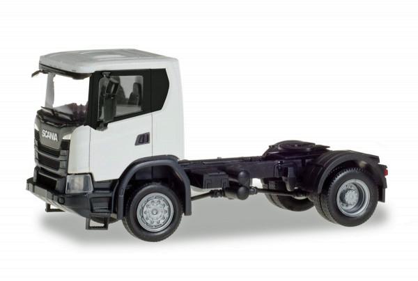 Herpa 309769 - Scania CG 17 4x4 Zugmaschine, weiß - 1:87