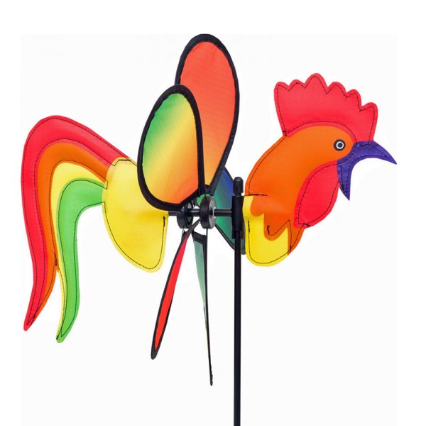Invento-HQ Windspiel Spin Critter Rooster - Hahn (32 x 65 cm)