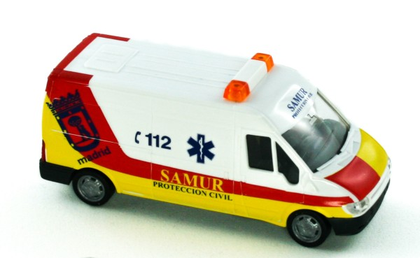 Rietze 51062 - Ford Transit 2000 Samur Proteccion Civil (ES) - 1:87