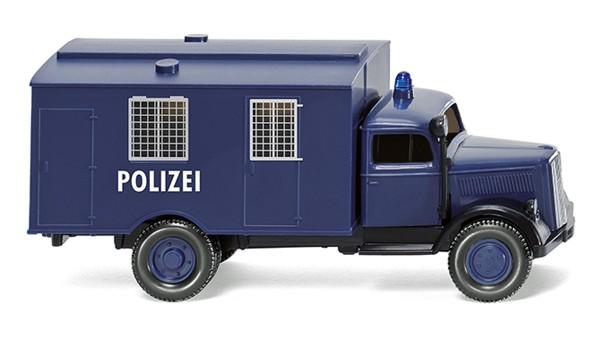 Wiking 086435 - Polizei - Gefangenentransport (Opel Blitz) - 1:87