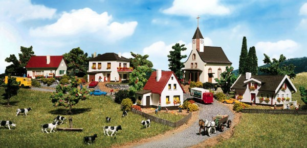 Vollmer 7710 - Dorfbausatz - N