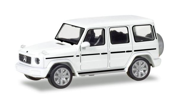 Herpa 420280 - Mercedes-Benz G-Modell, polarweiß - 1:87