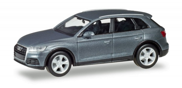 Herpa 038621-002 - Audi Q5, monsungrau metallic - 1:87