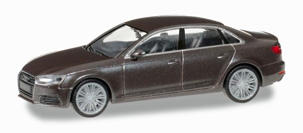 Herpa 038560 - Audi A4 ® Limousine, argusbraun metallic - 1:87