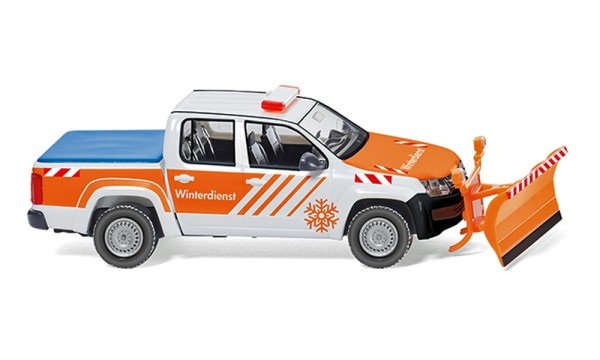 Wiking 031110 - Winterdienst - VW Amarok - 1:87