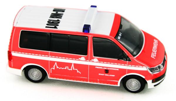Rietze 53717 - Volkswagen T6 Feuerwehr Walldorf - 1:87