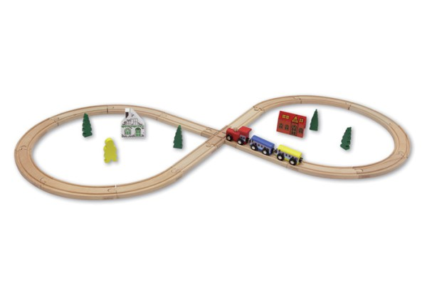 BEEBOO TRAIN - Achterbahn (29-teilig)