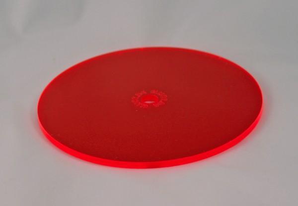 Lichtzauber Sonnenfänger - Scheibe klein, Ø 10 cm, rot (Elliot 1019023)