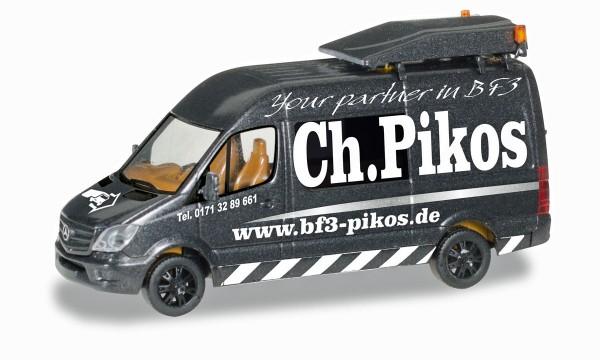 """Herpa 092845 - Mercedes-Benz Sprinter BF3 """"Ch. Pikos"""" - 1:87"""