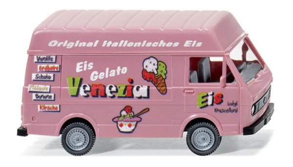 "Wiking 0301 01 - VW LT 28 Verkaufswagen - ""Eis Venezia"" - H0"