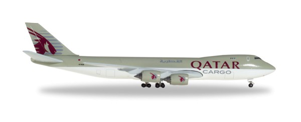 Herpa Wings 531993 - Qatar Airways Cargo Boeing 747-8F - A7-BGB - 1:500