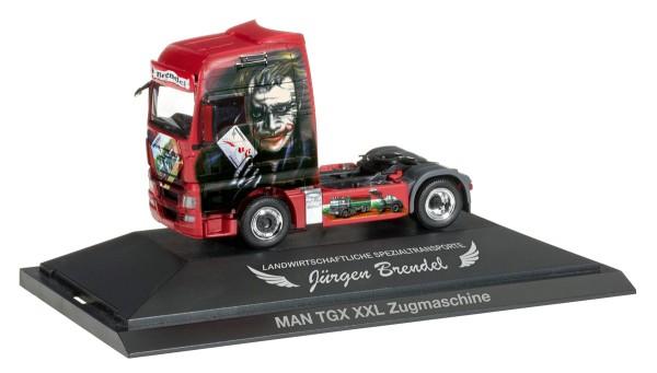 """herpa 110761 - MAN TGX XXL Zugmaschine """"Brendel / Joker"""" - 1:87"""