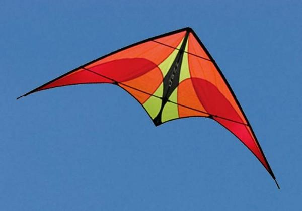 Jazz Fire - Einsteiger-Lenkdrachen von Prism (Spannweite: 140 cm) - R2F