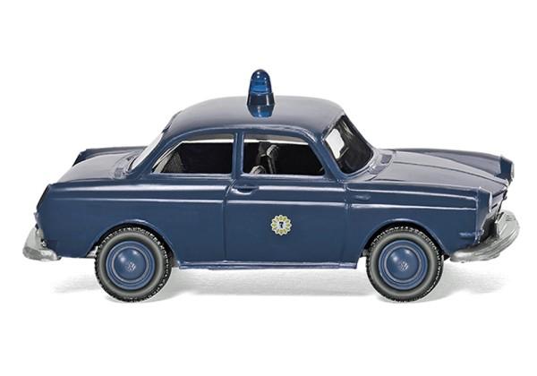 """Wiking 086436 - Polizei - VW 1600 Limousine """"Berlin"""" - 1:87"""