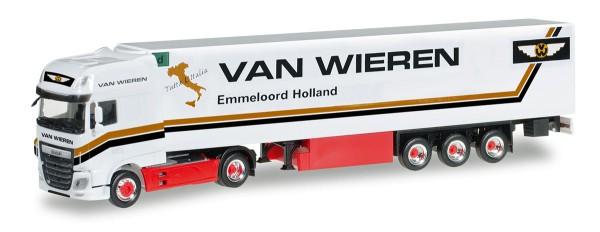"Herpa 306256 - DAF XF SSC Euro 6 Kühlkoffer-Sattelzug ""Van Wieren"" (NL) - 1:87"