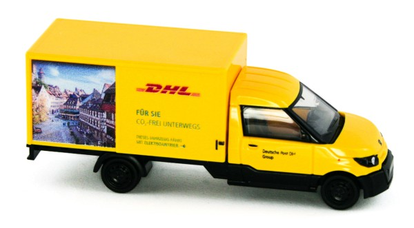 Rietze 33022 - Streetscooter Work L, DHL Nürnberg - 1:87