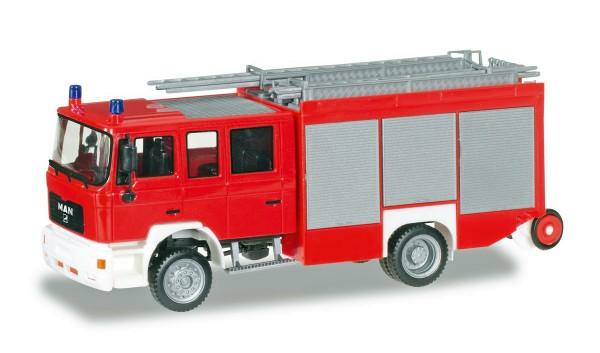"""Herpa 092913 - MAN M 2000 Löschfahrzeug HLF 20 """"Feuerwehr, unbedruckt"""" - 1:87"""