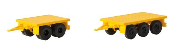 Kibri 13050 - Gewichtanhänger für Mobilkräne, 2 Stück - H0