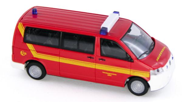 Rietze 51932 - Volkswagen T5 Werkfeuerwehr Forschungszentrum Jülich - 1:87