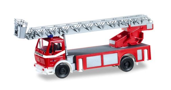 """Herpa 092517 - Mercedes-Benz Metz Drehleiter DLK 23/12 """"Feuerwehr Bühl"""" - 1:87"""