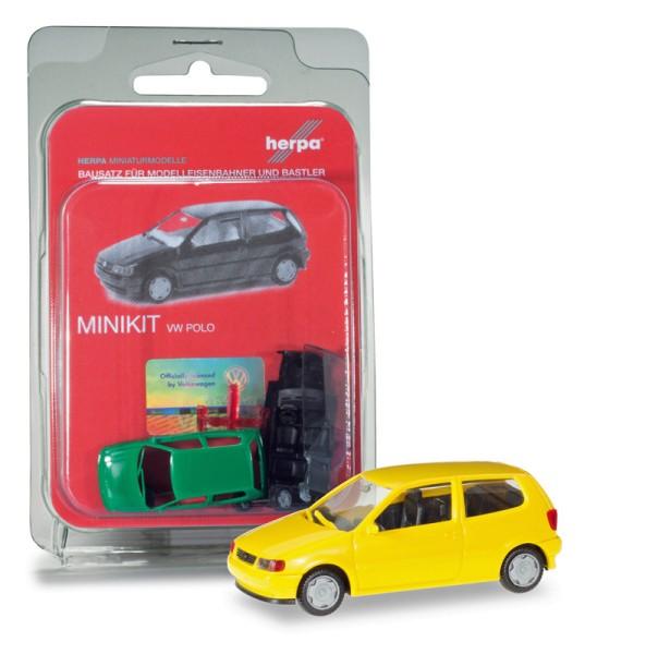 Herpa 012140-004 - Herpa MiniKit: VW Polo 2-türig, verkehrsgelb - 1:87