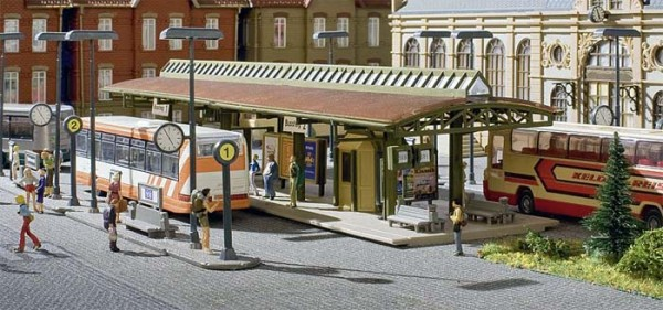 Vollmer 45149 - Busstation (ohne Bus) - H0 (5149)