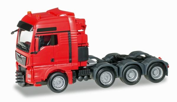 Herpa 304375-002 - MAN TGX XXL 640 Euro 6 Schwerlast-Zugmaschine, rot - 1:87