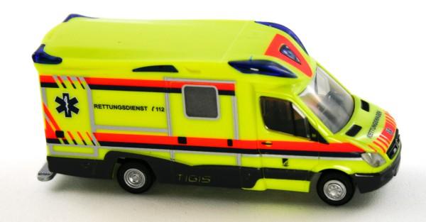 Rietze 68628 - Ambulanz Mobile Tigis Ergo Krankentransport Ost/West - 1:87