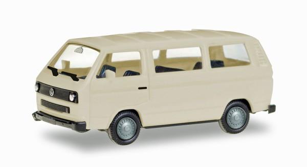 Herpa 013093 - Herpa MiniKit: VW T3 Bus, elfenbein (unbedruckt) - 1:87