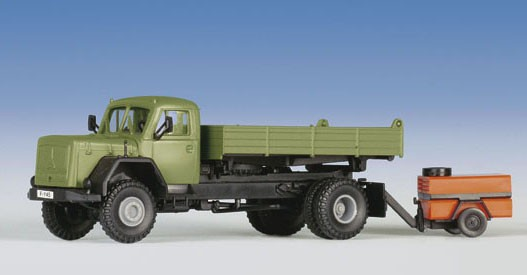 Kibri 14045 - MAGIRUS DEUTZ Pritsche/Kompressor - H0