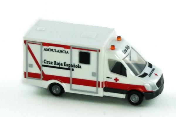 Rietze 16179 - WAS Ambulanz RTW Cruz Roja Espanol (ES) - 1:160