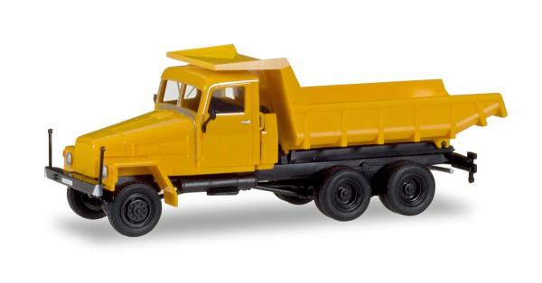Herpa 307574 - IFA G5 Muldenkipper, orange - 1:87