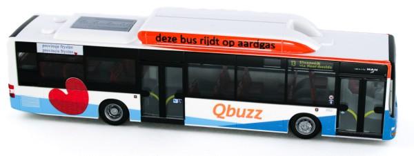 Rietze 72737 - MAN Lion´s City CNG Qbuzz Friesland (NL) - 1:87