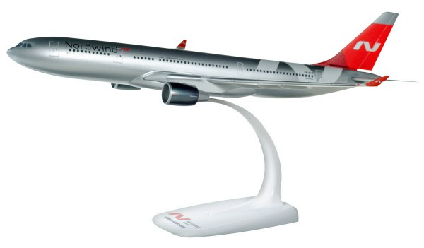 Herpa Wings 612012 - Nordwind Airlines Airbus A330-200 - VP-BYV - 1:200 - Snap-Fit