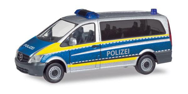 """Herpa 094726 - Mercedes-Benz Vito """"Polizei Saarland"""" - 1:87"""