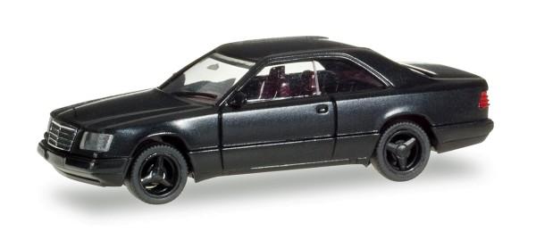 Herpa 028813 - Mercedes-Benz E 320 Coupé, schwarz - 1:87
