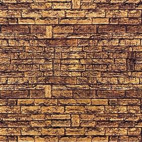 Vollmer 6034 - Mauerplatten Muschelkalk - Karton - Fläche: 310cm² - H0